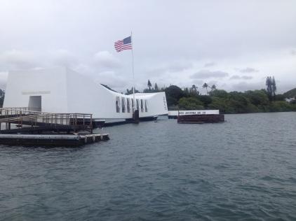 Pearl Harbour Denkmal auf O'ahu