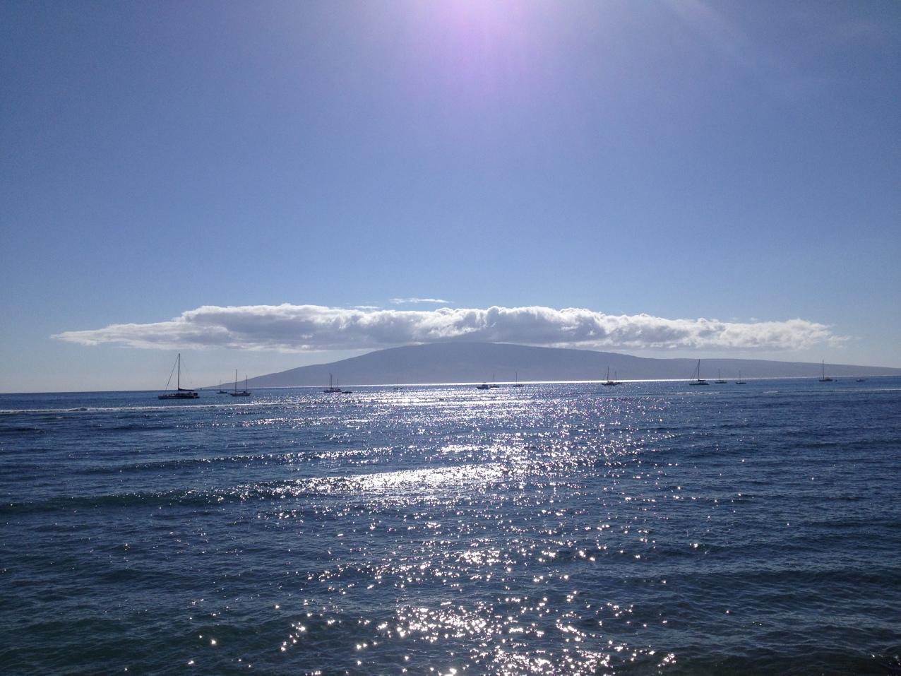 Horizont von Lahaina aus
