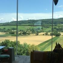 Blick aus dem Vitra Haus