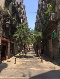 Gasse im Viertel El BOrn