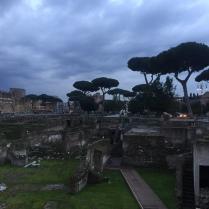 Ruinen an der Via dei Fori Imperiali